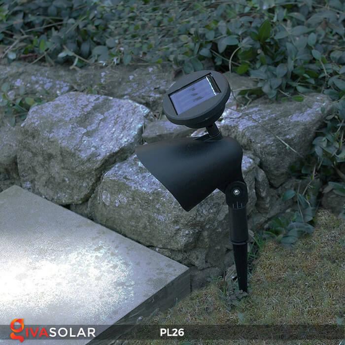 Đèn rọi tiểu cảnh năng lượng mặt trời pl26 6