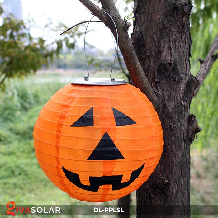Đèn lồng bí ngô trang trí Halloween năng lượng mặt trời DL-PPLSL 1