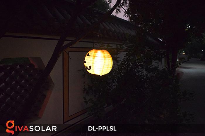 Đèn lồng bí ngô trang trí Halloween năng lượng mặt trời DL-PPLSL 11