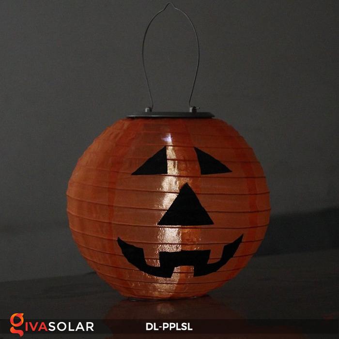 Đèn lồng bí ngô trang trí Halloween năng lượng mặt trời DL-PPLSL 14