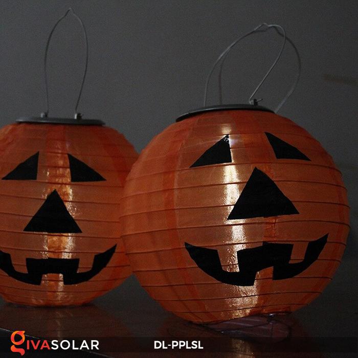 Đèn lồng bí ngô trang trí Halloween năng lượng mặt trời DL-PPLSL 15