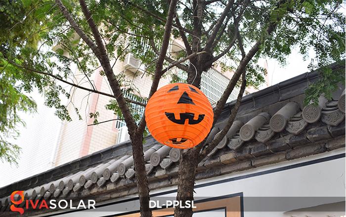 Đèn lồng bí ngô trang trí Halloween năng lượng mặt trời DL-PPLSL 3