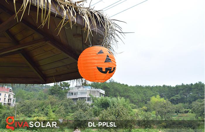 Đèn lồng bí ngô trang trí Halloween năng lượng mặt trời DL-PPLSL 8