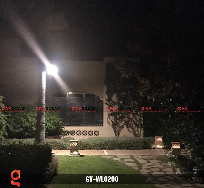 Đèn treo tường dùng năng lượng mặt trời WL0200 16