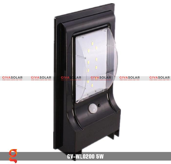 Đèn treo tường dùng năng lượng mặt trời WL0200 2