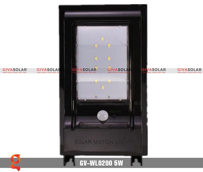 Đèn treo tường dùng năng lượng mặt trời WL0200 3
