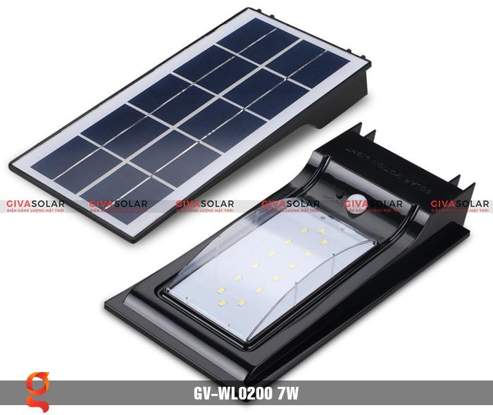 Đèn treo tường dùng năng lượng mặt trời WL0200 6