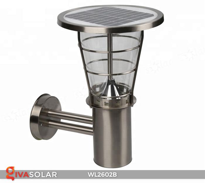 Đèn gắn tường năng lượng mặt trời WL2602B 1