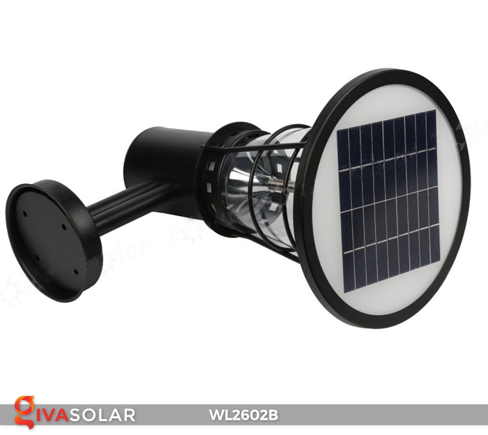 Đèn gắn tường năng lượng mặt trời WL2602B 3