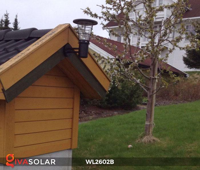 Đèn gắn tường năng lượng mặt trời WL2602B 4