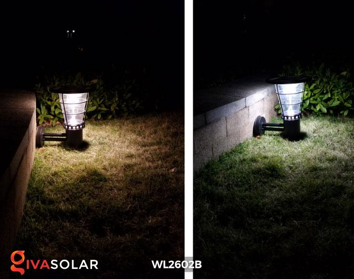 Đèn gắn tường năng lượng mặt trời WL2602B 5