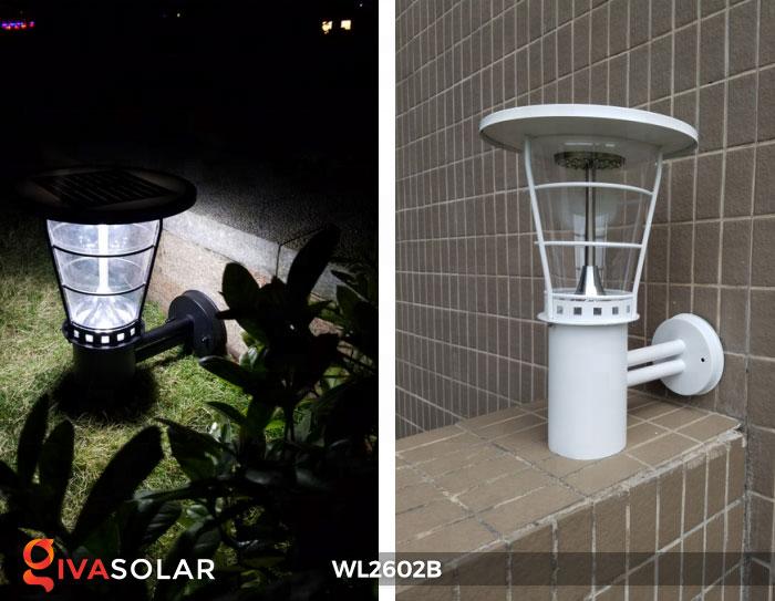 Đèn gắn tường năng lượng mặt trời WL2602B 6