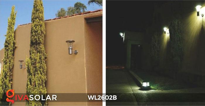 Đèn gắn tường năng lượng mặt trời WL2602B 7