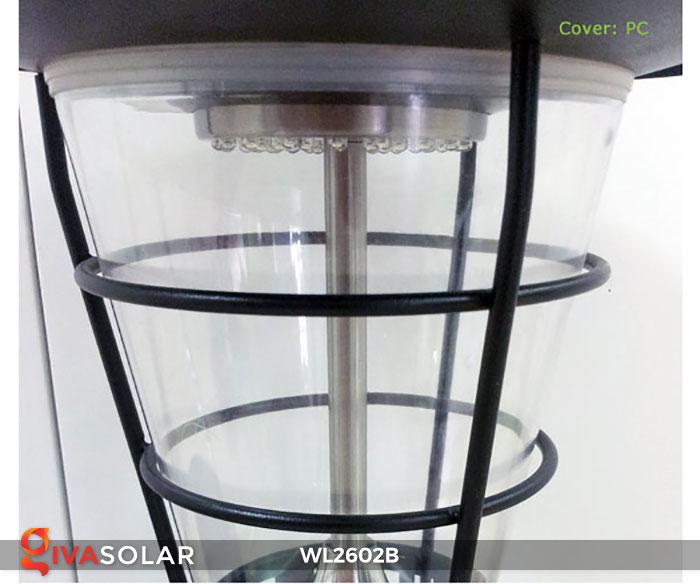 Đèn gắn tường năng lượng mặt trời WL2602B 9