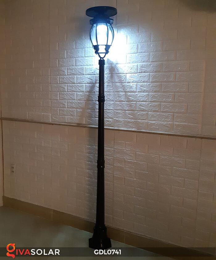 Đèn cột năng lượng mặt trời sân vườn GDL0741 10