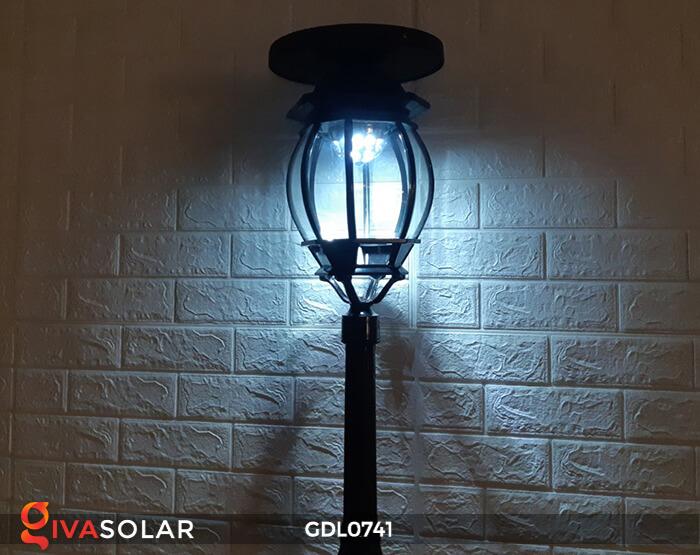 Đèn cột năng lượng mặt trời sân vườn GDL0741 11