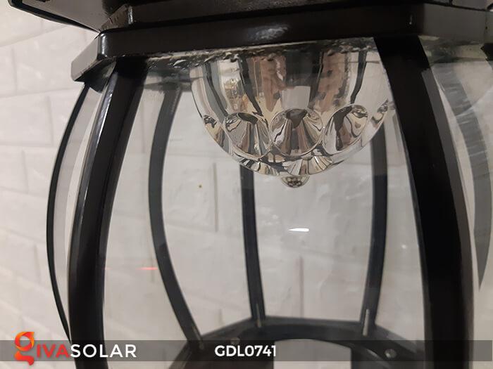 Đèn cột năng lượng mặt trời sân vườn GDL0741 12