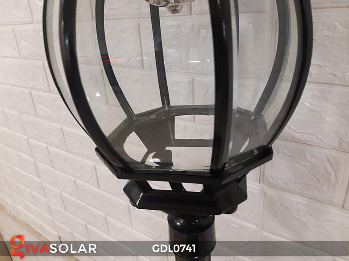 Đèn cột năng lượng mặt trời sân vườn GDL0741 13