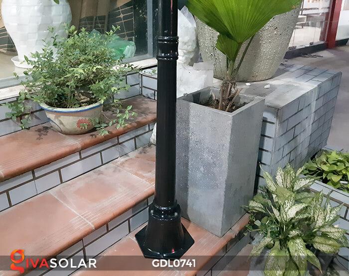 Đèn cột năng lượng mặt trời sân vườn GDL0741 7