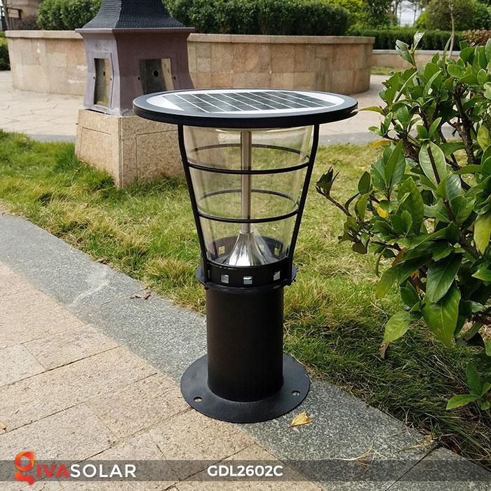 Đèn trụ năng lượng mặt trời GDL2602C 1