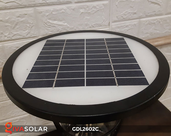 Đèn trụ năng lượng mặt trời GDL2602C 14