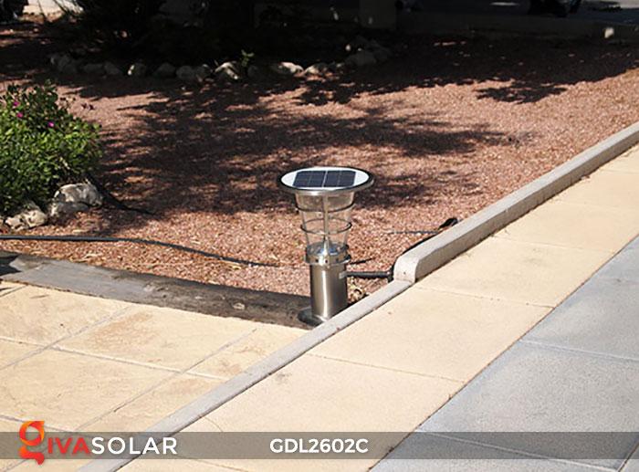 Đèn trụ năng lượng mặt trời GDL2602C 15