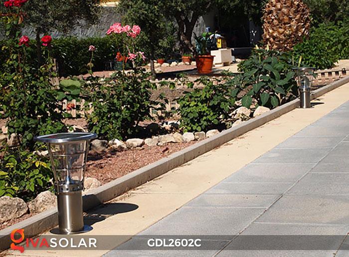 Đèn trụ năng lượng mặt trời GDL2602C 16