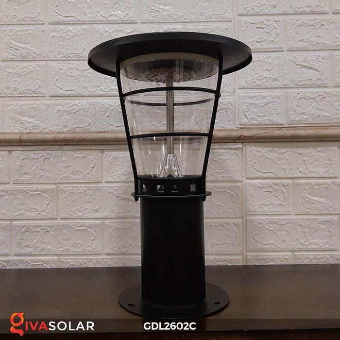Đèn trụ năng lượng mặt trời GDL2602C 3