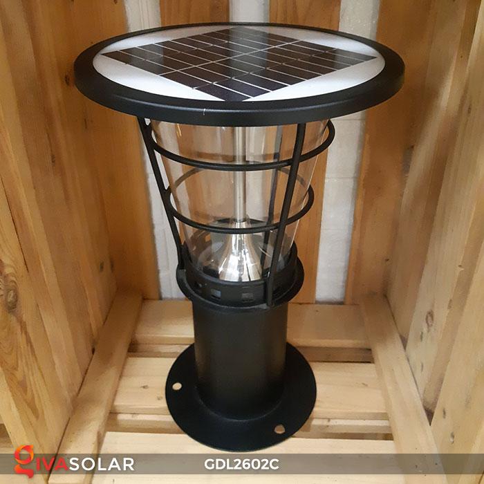 Đèn trụ năng lượng mặt trời GDL2602C 4