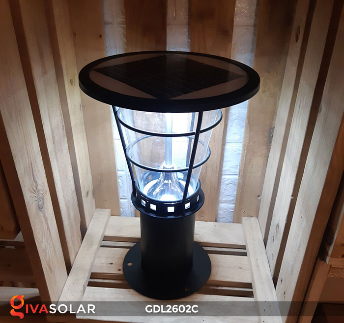 Đèn trụ năng lượng mặt trời GDL2602C 6