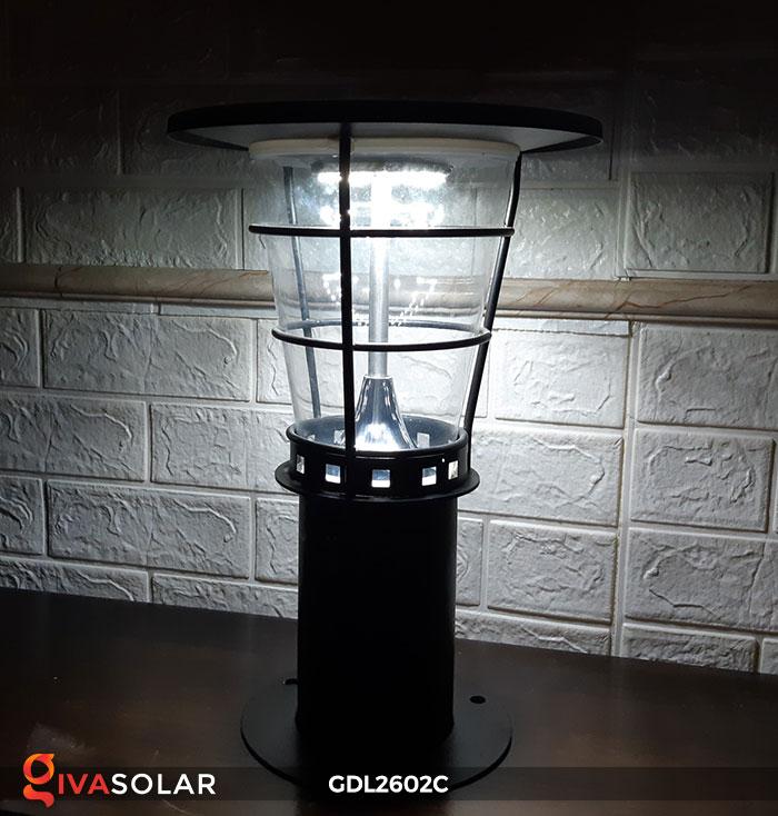 Đèn trụ năng lượng mặt trời GDL2602C 7
