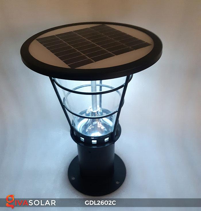 Đèn trụ năng lượng mặt trời GDL2602C 8