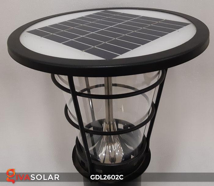 Đèn trụ năng lượng mặt trời GDL2602C 9
