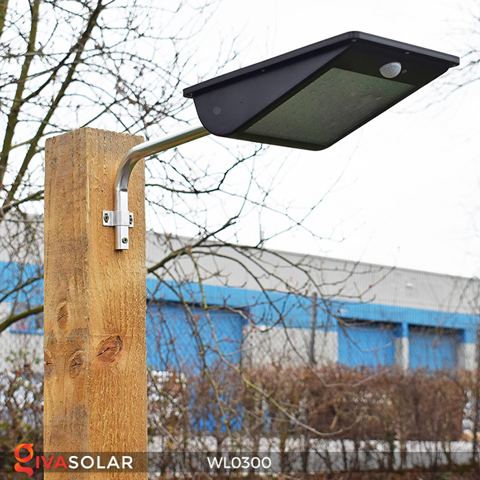 Đèn tường chạy năng lượng mặt trời WL0300 10