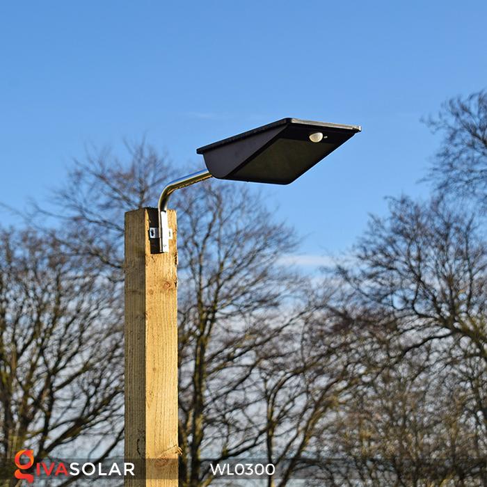 Đèn tường chạy năng lượng mặt trời WL0300 12