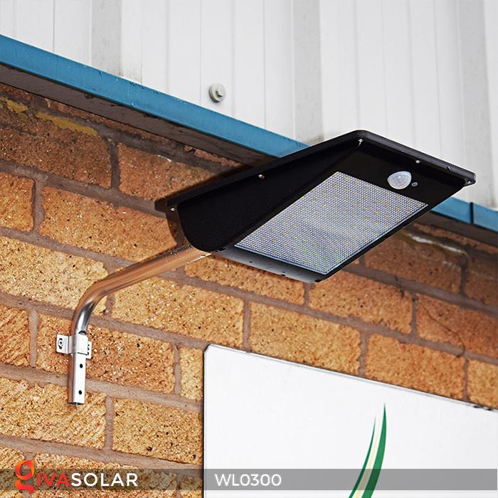 Đèn tường chạy năng lượng mặt trời WL0300 14
