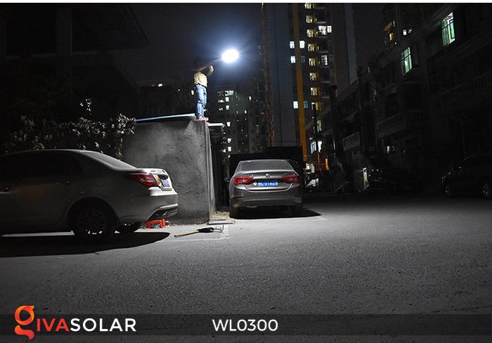 Đèn tường chạy năng lượng mặt trời WL0300 19