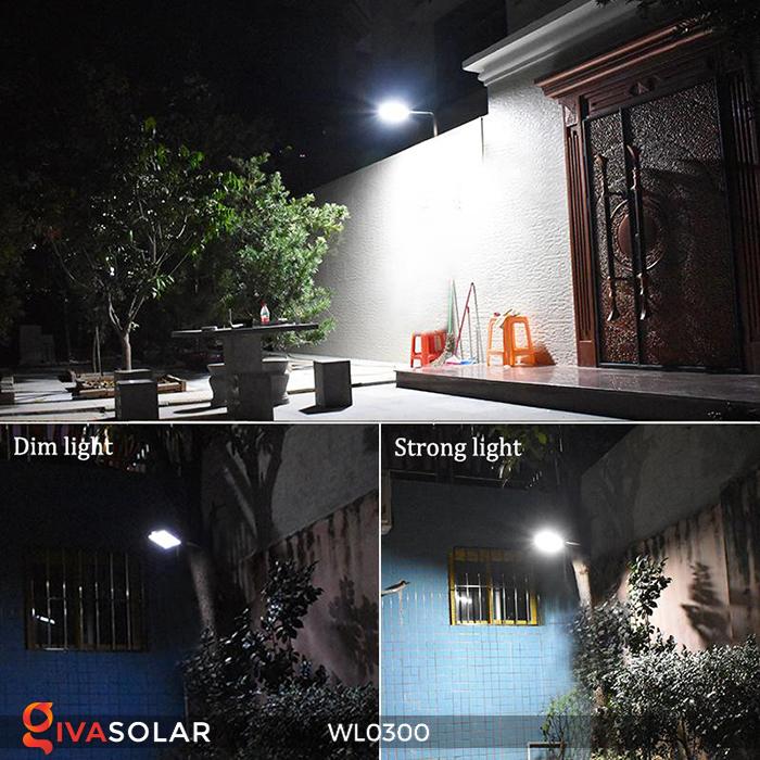 Đèn tường chạy năng lượng mặt trời WL0300 21