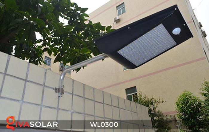 Đèn tường chạy năng lượng mặt trời WL0300 9