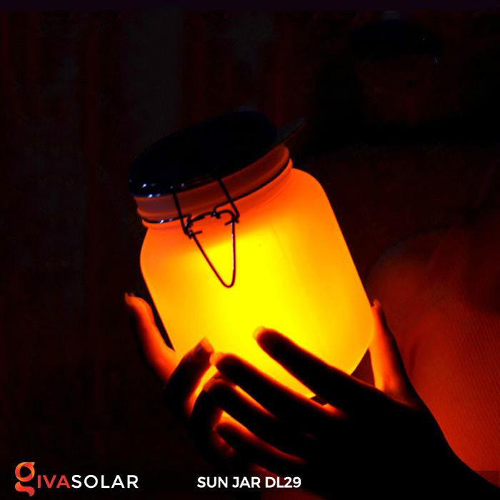 Lọ thủy tinh đổi màu năng lượng mặt trời DL29 11