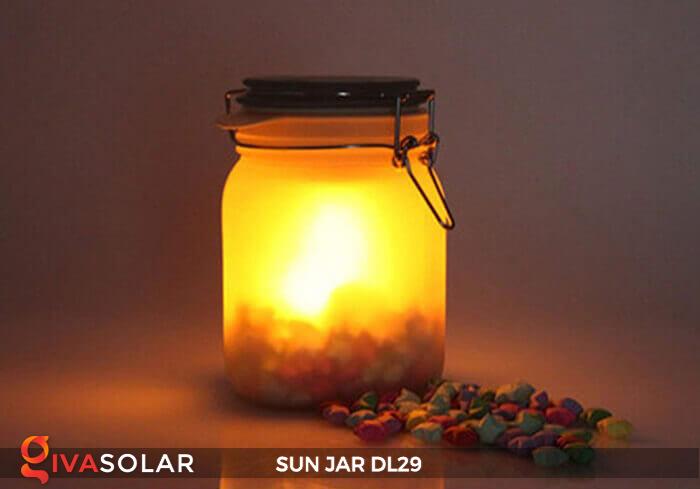 Lọ thủy tinh đổi màu năng lượng mặt trời DL29 12