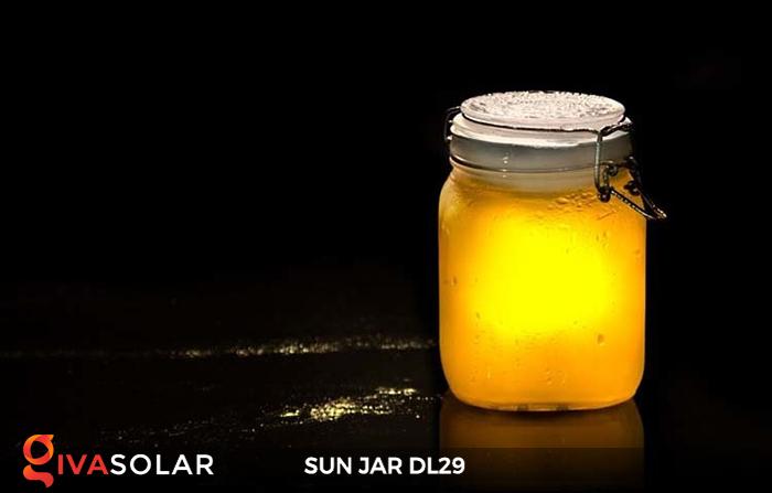 Lọ thủy tinh đổi màu năng lượng mặt trời DL29 13