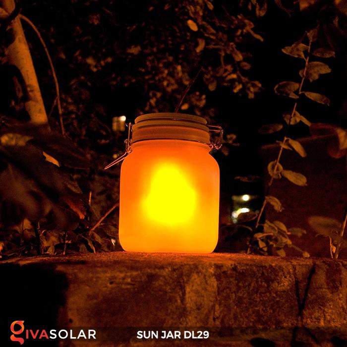 Lọ thủy tinh đổi màu năng lượng mặt trời DL29 14