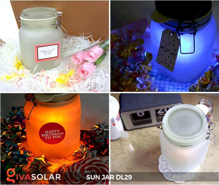 Lọ thủy tinh đổi màu năng lượng mặt trời DL29 15