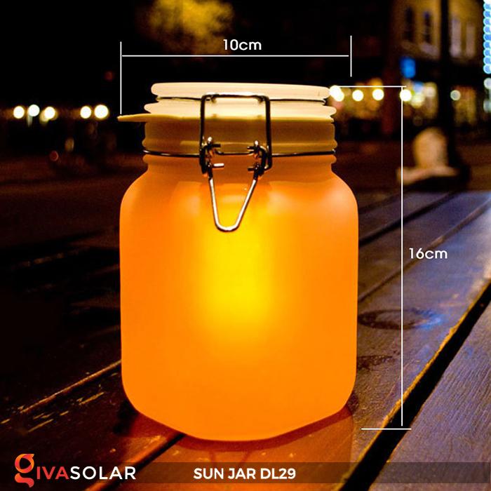 Lọ thủy tinh đổi màu năng lượng mặt trời DL29 16