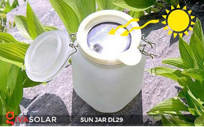 Lọ thủy tinh đổi màu năng lượng mặt trời DL29 21