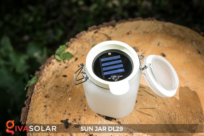 Lọ thủy tinh đổi màu năng lượng mặt trời DL29 22