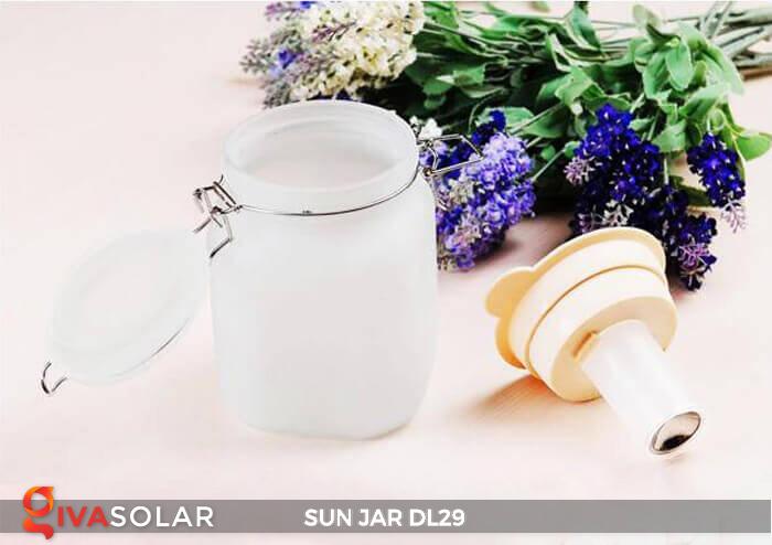 Lọ thủy tinh đổi màu năng lượng mặt trời DL29 24