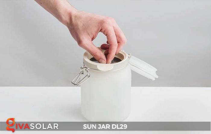 Lọ thủy tinh đổi màu năng lượng mặt trời DL29 27