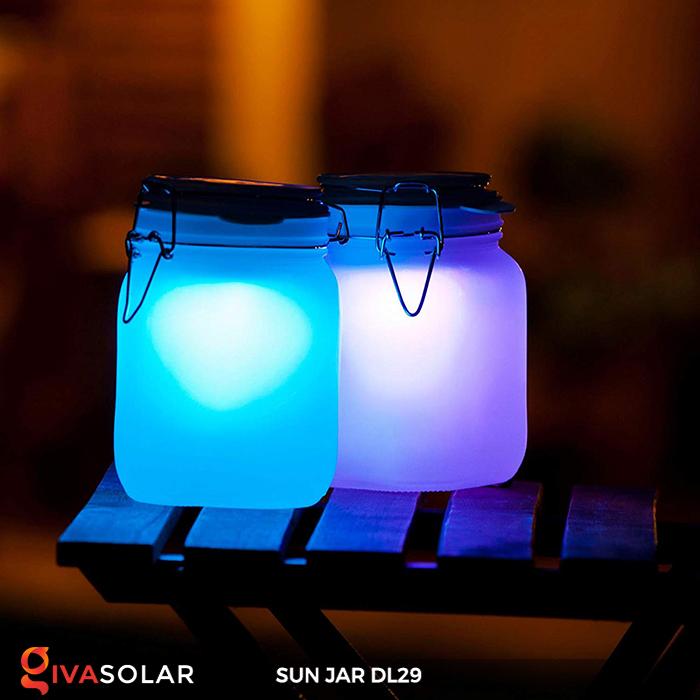 Lọ thủy tinh đổi màu năng lượng mặt trời DL29 3